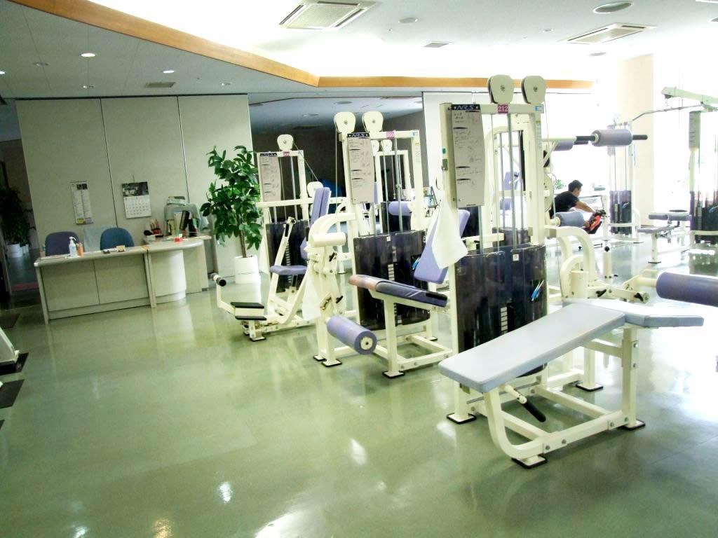 かきざきドーム(柿崎総合運動公園) トレーニングルームの画像